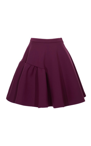 High Waisted Neoprene Circle Skirt by MSGM Now Available on Moda Operandi