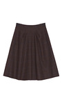 Plaid Harris Tweed A Line Skirt by NINA RICCI Now Available on Moda Operandi