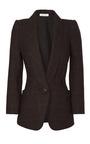 Plaid Harris Tweed Blazer by NINA RICCI Now Available on Moda Operandi