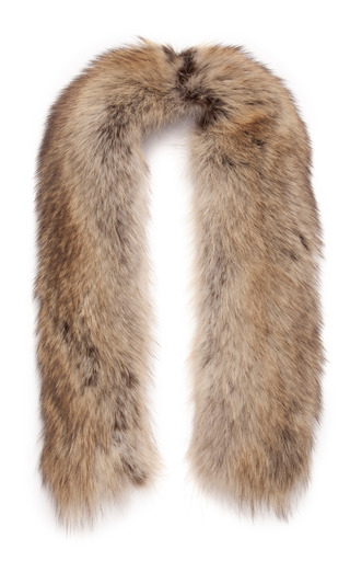 Raccoon And Silk Scarf by NINA RICCI Now Available on Moda Operandi