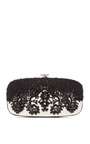 Goa Bead Embellished Satin Clutch by OSCAR DE LA RENTA Now Available on Moda Operandi