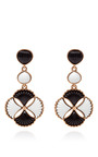 Two Tone Resin Clip On Drop Earrings by OSCAR DE LA RENTA Now Available on Moda Operandi