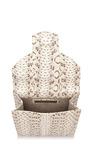 Grafton Snakeskin Envelope Clutch by OSCAR DE LA RENTA Now Available on Moda Operandi