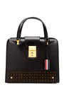 Mrs. Thom One Of A Kind Spike Studded Handbag by THOM BROWNE Now Available on Moda Operandi