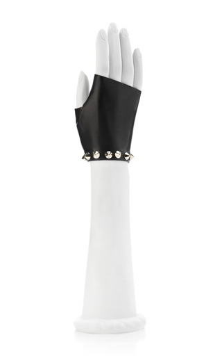 Studded Cut Off Latex Gloves by ATSUKO KUDO Now Available on Moda Operandi