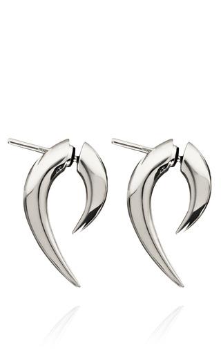 Medium shaun leane silver sterling silver talon earrings