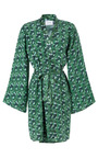 Indochine Silk Dressing Gown by POPLIN Now Available on Moda Operandi