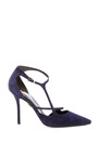Ergo Sexy Suede Pumps by ROGER VIVIER Now Available on Moda Operandi