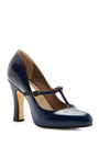 Leather Mary Jane Pumps by MARC JACOBS Now Available on Moda Operandi