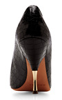 Embossed Leather Pumps by ROCHAS Now Available on Moda Operandi