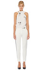Fitted Cropped Tuxedo Pants by PIERRE BALMAIN Now Available on Moda Operandi