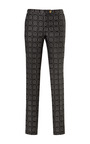 Jacquard Cropped Skinny Pants by PIERRE BALMAIN Now Available on Moda Operandi