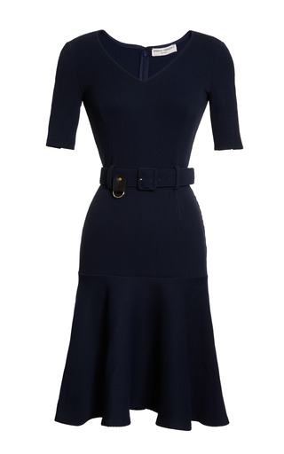 Medium opening ceremony blue mace flare dress