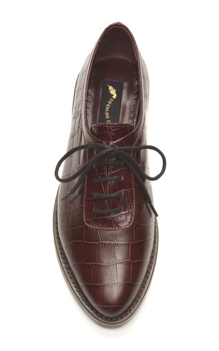 Embossed Leather Oxfords by OPENING CEREMONY Now Available on Moda Operandi