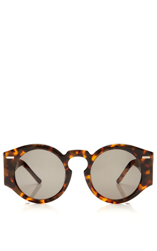 Oversized Round Sunglasses by OPENING CEREMONY Now Available on Moda Operandi