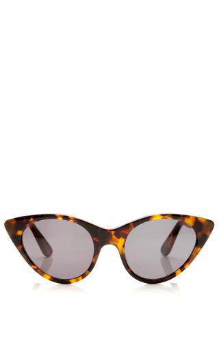 Medium opening ceremony brown tortoise cat eye sunglasses 2