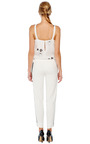 Hand Pleated Ruffle Neck Halter Blouse by PRABAL GURUNG Now Available on Moda Operandi