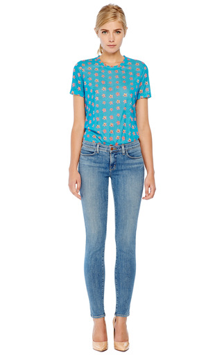 Floral Print T Shirt by PRABAL GURUNG Now Available on Moda Operandi