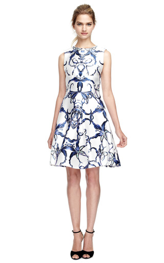 Graphic Angular Insert Dress by PRABAL GURUNG Now Available on Moda Operandi