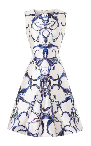 Medium prabal gurung print graphic angular insert dress