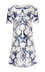 Sculpted Shoulder A Line Shift Dress by PRABAL GURUNG Now Available on Moda Operandi