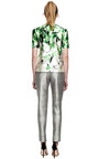 Floral Print Satin Top by PRABAL GURUNG Now Available on Moda Operandi