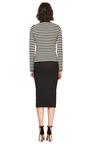 Satin Jacquard Midi Pencil Skirt by ROCHAS Now Available on Moda Operandi