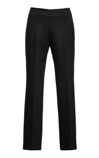Jersey Flat Front Cropped Pants by ROCHAS Now Available on Moda Operandi