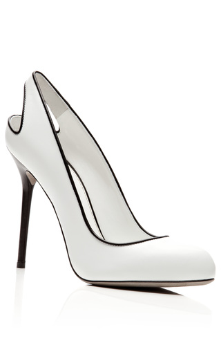 Kaleido Leather Pumps by SERGIO ROSSI Now Available on Moda Operandi