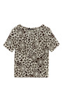Floral Print Wool Blend Top by THAKOON Now Available on Moda Operandi