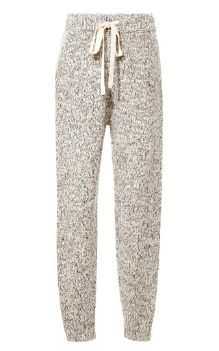 Medium thakoon addition dark grey marled knit sweatpants