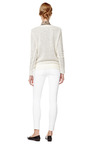 Mohair Blend Lace Knit Sweater by THAKOON ADDITION Now Available on Moda Operandi