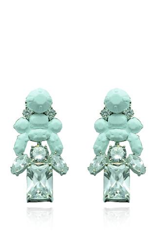 Medium ek thongprasert blue stepney earrings