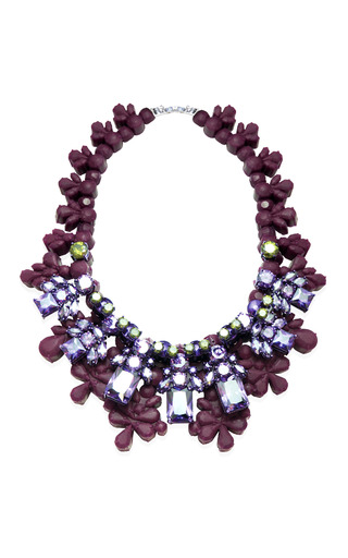 Medium ek thongprasert purple morgan necklace