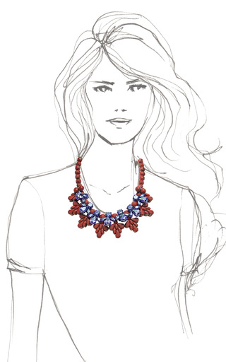 Archer Heights Necklace by EK THONGPRASERT Now Available on Moda Operandi