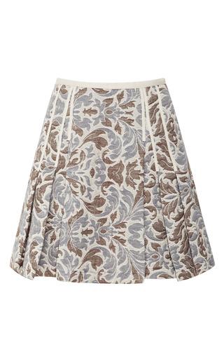 Medium timo weiland multi taryn pleated brocade skirt
