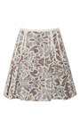 Taryn Pleated Brocade Skirt by TIMO WEILAND Now Available on Moda Operandi