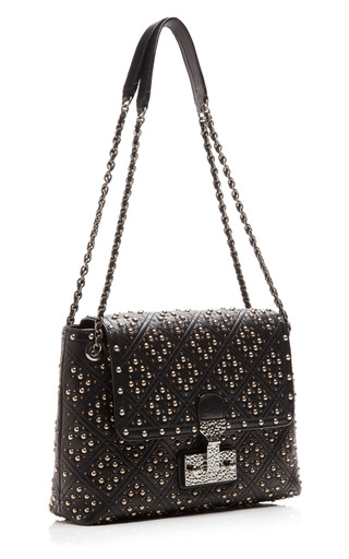 The Large Single Baroque Studded Shoulder Bag by MARC JACOBS Now Available on Moda Operandi