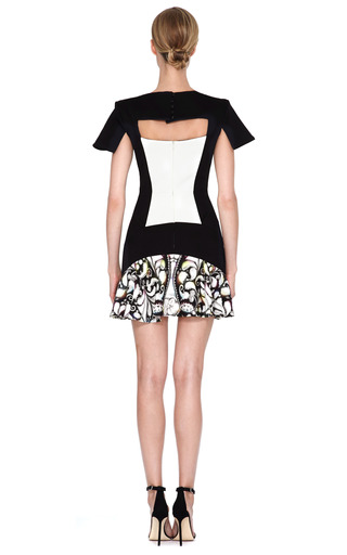 Jarr Printed Paneled Dress by PETER PILOTTO Now Available on Moda Operandi