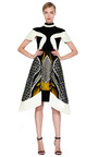 Anita Printed Silk Blend Paneled Dress by PETER PILOTTO Now Available on Moda Operandi