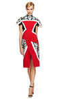 Farah Crepe Paneled Dress by PETER PILOTTO Now Available on Moda Operandi