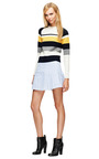 Striped Pleated Mini Skirt by J.W. ANDERSON Now Available on Moda Operandi