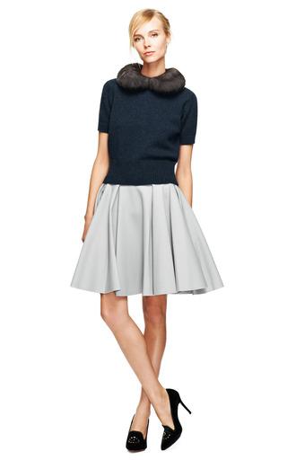 Felted Wool Circle Skirt by NINA RICCI Now Available on Moda Operandi