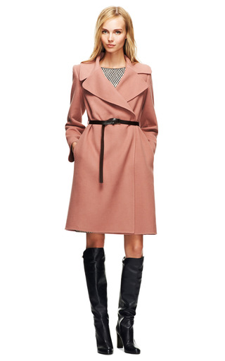 Double Faced Cashmere Belted Coat by MARC JACOBS Now Available on Moda Operandi
