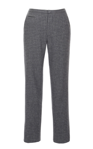 Mini Plaid Slim Ankle Pant by MARC JACOBS Now Available on Moda Operandi