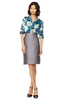 Fishnet Satin Highwaisted Pencil Skirt by MARC JACOBS Now Available on Moda Operandi
