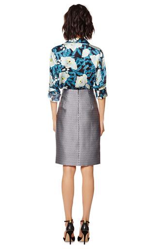 Fishnet Satin Highwaisted Pencil Skirt by MARC JACOBS Now Available on Moda Operandi