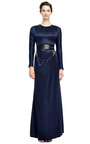 Silk Satin Gown With Open Back by PRABAL GURUNG Now Available on Moda Operandi