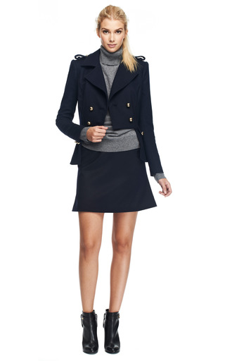 Double Breasted Wool Blend Jacket by PRABAL GURUNG Now Available on Moda Operandi