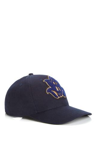 Baseball Cap by OSTWALD HELGASON Now Available on Moda Operandi
